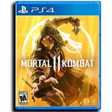 Mortal Kombat 11 Playstation 4 Disponible