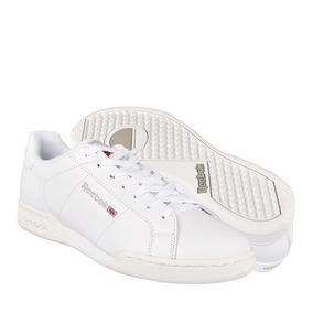 b2c758d08db76 Zapatos Atleticos Y Urbanos Reebok 5258 25-28 Piel Blanco
