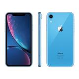 iPhone Xr 256gb Azul Lacrado Com Nota Fiscal