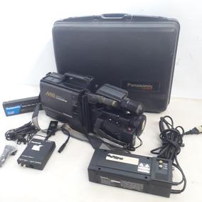 Câmera Filmadora Panasonic Profissional M8 Antiga No Estado