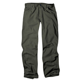 Dickies Pantalon De Pato De Corte Relajado Para Hombre, Musg