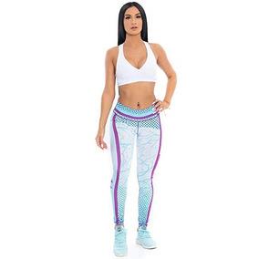 Mallas De Yoga Y Gimnasio Mujer Con Diseño 6 Marca Hunnifit