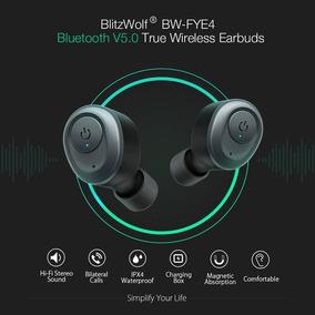 Fone Bluetooth 5.0 Blitzwolf Bw-fye4 True Wireless Earbuds