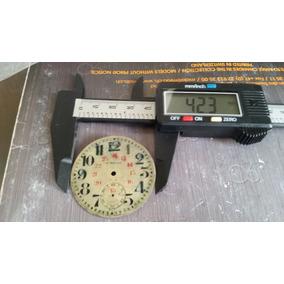 Caratula Steelco Reloj De Bolsillo Original Suiza 100%