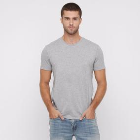 531a74fa32f19 Camiseta Cinza Mescla Lisa Personalização 100% Algodao Fio30 ...