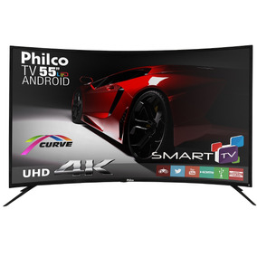 Tv Philco Led Android Curve 4k 55 Ph55a16dsgwa Bivolt