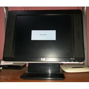 Monitor Lcd De 15 Pulgadas Marca Hp Vp 15 Original Cornetas