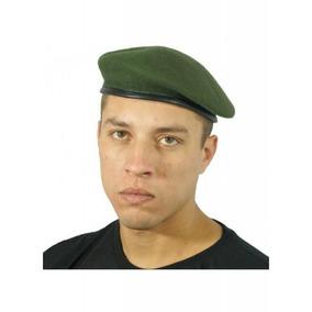 Boina Militar Francesa Verde Oliva Original - Loja Militar 603dcecacea