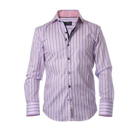62e66c3709e Camisas Manga Larga de Hombre Violeta en Mercado Libre México