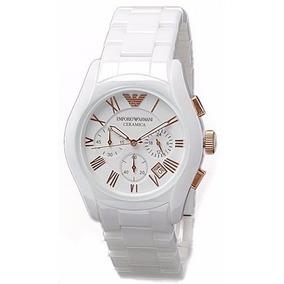 0fbf8d9f90d Relogio Empório Armani Branco Rose - Relógios De Pulso no Mercado ...