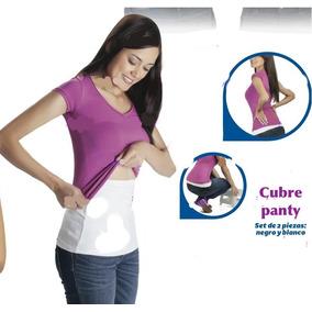 2 Cubre Panty Betterware En Color Blanco Y Negro