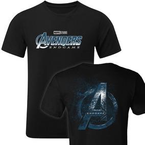 Playera Avengers Endgame Ironman Capitán América Thanos