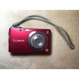 Lumix Cámara 14 Megapixeles Mpx Roja Fotográfica Digital