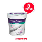Pinças Depilatórias 3 Potes / 120 Unidades Cada - A...