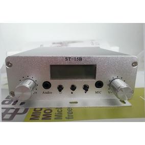 Transmissor Fm 15w Estéreo 87.5mhz-108mhz Cze-15a Radio