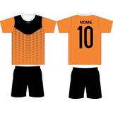 Kit Camisas Futebol 18 Camisas 18 Calções, Uniforme Futebol