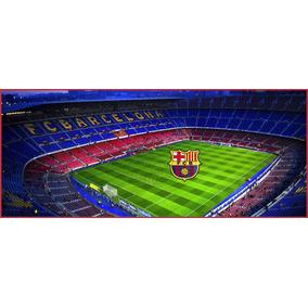 Lienzo Tela Canvas Poster Barcelona Fc Estadio 50 X 120 828f328c34f