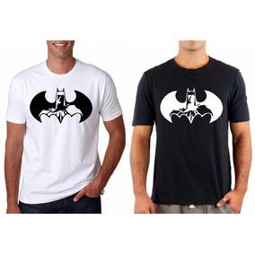 Camiseta Roupa Camisa Blusa Masculina Batman