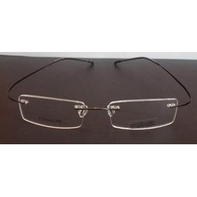 Armação Oculos De Grau Silhouette Sem Aro Titanium Grafite 5e5a97c32d