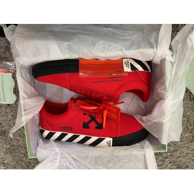 Sneakers Originales Off White Vulc Red Virgil Abloh Red No C