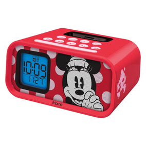 Despertador Minnie Mouse Dual Alarm Clock And 30-pin Ipod S