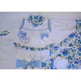 Saída De Maternidade Feminino Kit 7 Peças Envio Hoje!