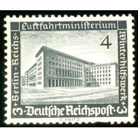 Alemanha Reich 1936 Ministério Do Ar - Berlim Veja + Selos