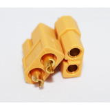 Conector Xt60 Hembra (amarillo)