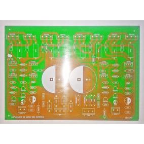 Placa Para Montar Amplificador 400w Estéreo 2sc5200/2sa1943