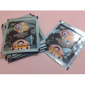 2 Envelopes Pacote Prateado Figurinhas Album Copa 2006