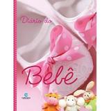 Livro Diário Do Bebê Album Gravidez Cor Rosa Capa Dura Frete