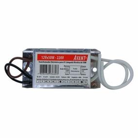 Transformador Eletrônico P/ Lamp Dicróica 12v 50w 127v Avant