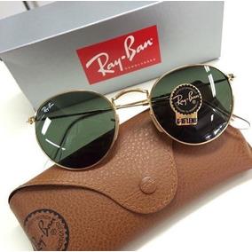 Rayban Round Metal Verde - Óculos no Mercado Livre Brasil 9edbe8550a