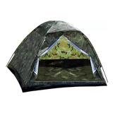 Barraca Camping Camuflada 3lugares-menor Preço Mercado Livre