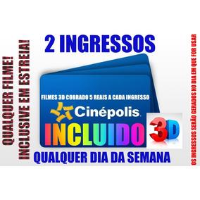 2 Ingressos Cinépolis R$14,65