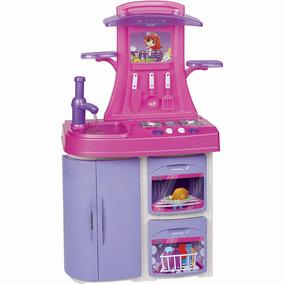 Cozinha Infantil Magic Toys Versátil - Meg Rosa/lilás