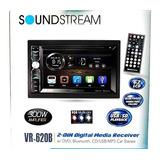 Autoestereo Pantalla Soundstream Vr-620b + Camara Reversa