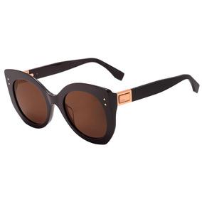 8b8a6372695b4 Oculos De Sol Gatinho Feminino Preto Fendi - Óculos no Mercado Livre ...