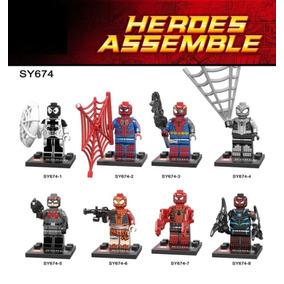 Figuras Compatibles Con Lego De Spiderman Sy674