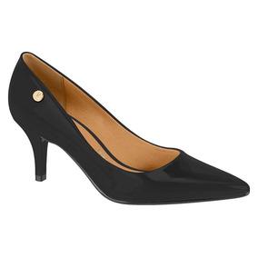 729012ef3f Scarpin Vizzano Preto Com Laço Atras Outros Tipos - Sapatos no Mercado  Livre Brasil