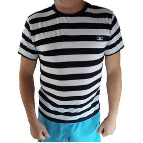 Camisa Lacoste Grande Branca Listras - Camisa Casual Masculino no ... a36f7887f9