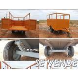 Zorra - Remolque Tipo Trailer. Capacidad De Carga 2.500kg.
