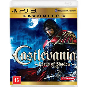 Castlevania Lords Of Shadow Favoritos Ps3 Mídia Física