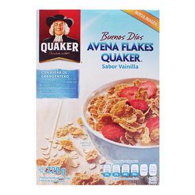 Cereal Quaker Avena Flakes 220 Grs.
