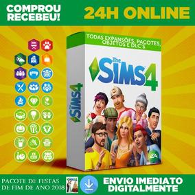 The Sims 4 + Envio Na Hora 24h + Todas Expansões,dlc,objetos