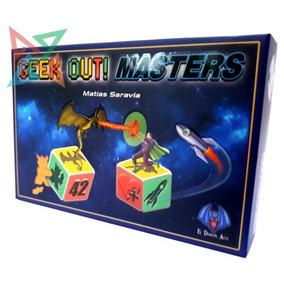 Geek Out! Masters - Juego De Dados - Para Toda La Familia!