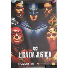 Pôster Cartaz Liga Da Justiça 93x63 Cm