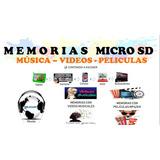 Micro Sd 64 Gb Con Peliculas, Videos O Musica
