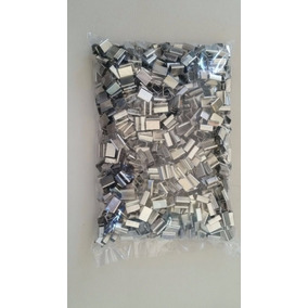 1.000 Garras De 12 Mm E 1.000 Argolas Aço Carbono 13mm
