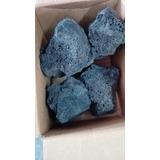 Piedra Volcanica Negra Para Acuario Tamaño Grande 25 Kgs